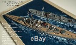 1700 German Battlecruiser, SMS Lützow, Flyhawk, 1700 gebaut, 1700 built, WWI