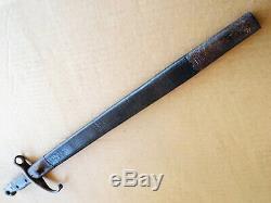 1890`S TURKISH SWORD BAYONET OTTOMAN MAUSER w SCABBARD GALLIPOLI M1890 WW1 WW2