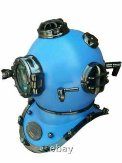 18 Inch Sea Divers Helmet Vintage Replica US Navy Diving Helmet Mark V Deep Gift