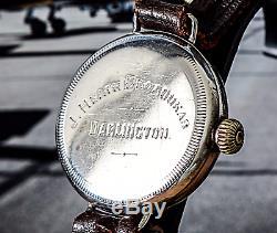 1916 ROLEX Unicorn Engraved WW1 Trench Watch J Heath Broadhead
