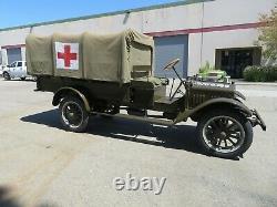 1917 GMC model 16AA WWI Truck