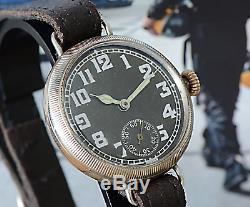 1917 Official UK Government Issued WW1 Trench Watch Ultra Rare Great Investment