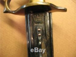 1918 lf&c knife trench au lion ww1