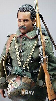 1/6 scale Custom WWI Imperial German Stormtrooper Gewehr 98 WW1 Lutz Fedder 1918