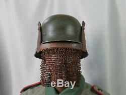 1 WK Maske der Stoßtruppsoldaten Deutsches Kaiserreich helm helmet casque ww1