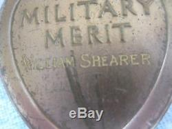 27th Div WW1 Officially Engraved Purple Heart Medal + Paperwk Silver Star Recipt