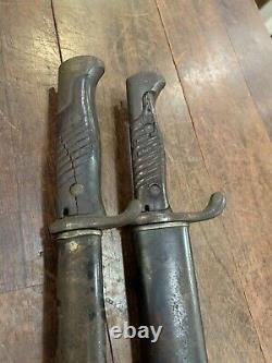 2- WW1 German Bayonets from local US soldiers estate