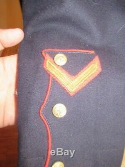 3rd Battalion 6th Marines WWI patched USMC Uniform