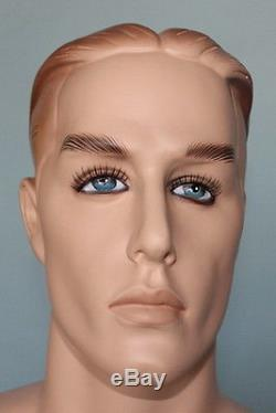5 ft 8 in Male Mannequin Skintone face makeup Small size WWI or II Uniform RO1FT