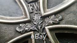 7000 German Iron Cross II. Class 1870 medal WW1 3 PIECE CONSTRUCTION MAGNETIC
