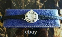 A Vintage 1919 Ww1 Gents Military Rolex Officers Trench Wristwatch In Silver