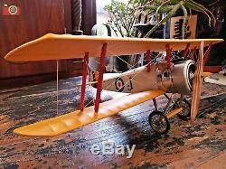 A Wwi Sopwith Camel Model. Beautiful Replica Aircraft. Authentic Models