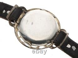 Absolutely Beautiful WW1 Silver Officers Trench Watch, 1915, Shrapnel Guard