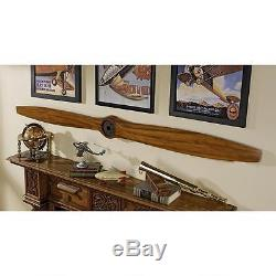 Airplane Propeller 71 WWI Wooden Historic Biplane Aircraft Assembled