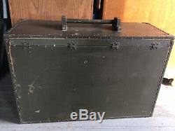 Antique Estey Wwi Wwii Portable Field Folding Pump Organ Rare