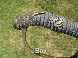 Antique Fancy German Prussian Infantry World War One WW1 Officers Sword