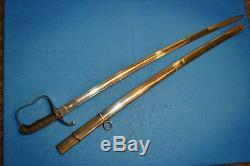 Antique K. U. K Wwi Austrian M1861 Officer's Sabre Sword Austro Hungarian Ww1