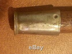Antique Military US Army WWI Trench Art Officer's Swagger Stick