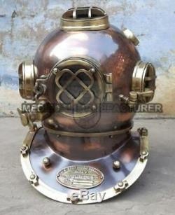 Antique Scuba Marine Style US Navy Mark V Deep Sea SCA 18 Divers Diving Helmet