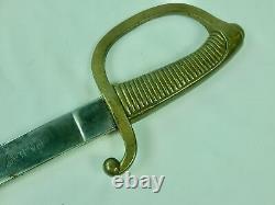 Antique Spain Spanish Ww1 Wwi Artillery Fabrica De Toledo Short Sword