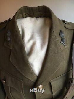 Antique WW1 Field Tunic/Jacket Royal Artillery And Sam Brown