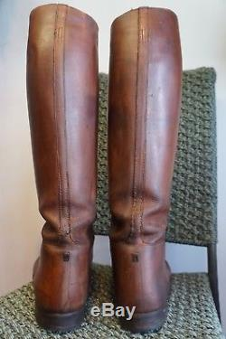 Antique Ww1 Peal & Co England Army Officers Leather Field Boots Size 10