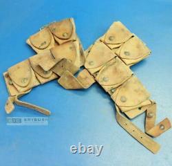 Australian WW1 P1915 Leather Equipment Cartridge Carriers Set Original