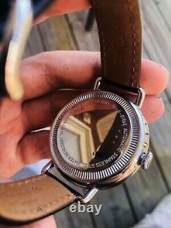 BellRoss Vintage grand date WW1-96 black Dial Automatic Men's Watch