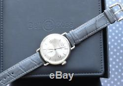 Bell & Ross Argentium BR-WW1 Silver Dial Manual Watch