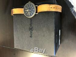 Bell Ross WW1-92 Heritage Retail $3900 No Reserve A+ Pilot 45mm Vintage Auto