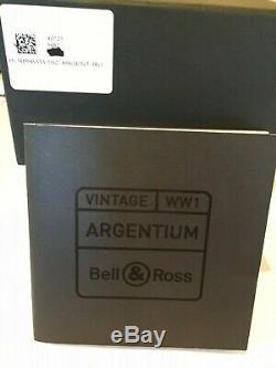 Bell & Ross WW1 ARGENTIUM RUTHENIUM BRWW1-ME-AG-RU/SCR