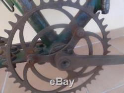 Bianchi Bicycle Italy Wwi Model 1912 Folding Military Bike The Bersaglieri Army