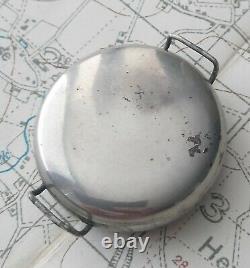 Big 40mm Ww1 Trench Watch British Military Wristwatch Mens Antique Vintage Black