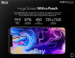 Blu Vivo One Plus 2019 Android Unlocked Cell Phone 6.2 HD Display 4G LTE 16GB M