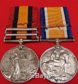 Boer War & Ww1 New Zealand & Australian Officer's Qsa & Bwm Full Entitlement Aif
