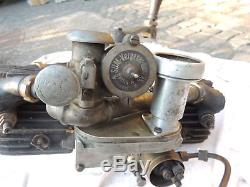 Bosch Motor Aggregat Boxer Dynamo Stationär Stationary Motorcycle engine WW1 WWI