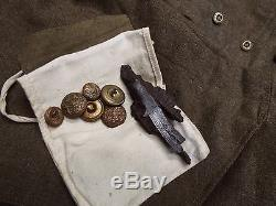 Complete Ww1 British Uniform Other Ranks Tunic And Trousers Grouping