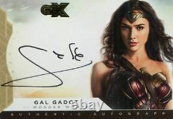 CZX DC Super Heroes & Villains Autograph Card GG-WW1 Gal Gadot as Wonder Woman