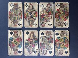 C. 1910 Swiss Tarot Old Deck 78 Cards J. Muller & Cie RARE Pre-WW1 Postcard Views