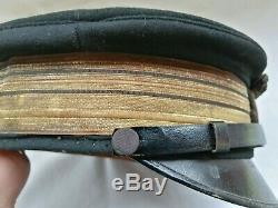 Cappello berretto capitano regia marina san marco rsi 1910 cap Navy hat ww1