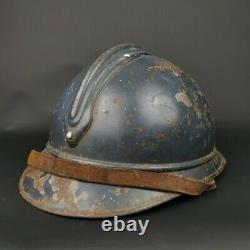 Casque Adrian Modèle 1915 Infanterie Poilu Ww1 14 18 French Helmet Cavalerie
