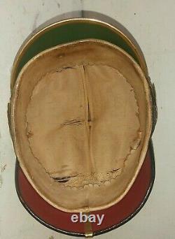 Casque à pointe, Spikelmet Beau casque d' Officier de la Garde Prussienne. Ww. 1