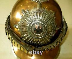 Casque à pointe, spikelhelmet, pickelaubGarde du Corps, moidèle 1889 Troupe. WW1