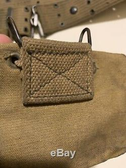 China Marine Grouping Corpsman Pre-ww1 Usmc Depot First Aid Pouches Named Rare