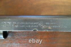 Colt 1911 Slide Early WWI Example With Sights 45ACP Made 1918 Very Good Original