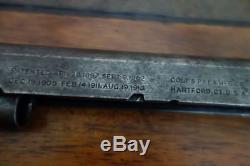 Colt 1911 Slide Vintage WWI Period US Army Good Shape 1918