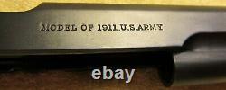 Colt 1911 Slide WWI WW1 1914 1917 Serial 83856 to 180000