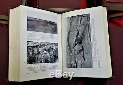 Complete Set Of 12, C. E. W. Bean's The Official History Of Australia Ww1 Anzac