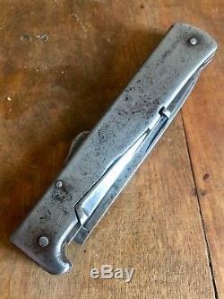 Couteau Pliant Allemand Mercator DRGM WW1