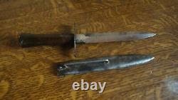 Couteaux Collection Ww1 Nettoyeur De Tranchée Marque Bourgade